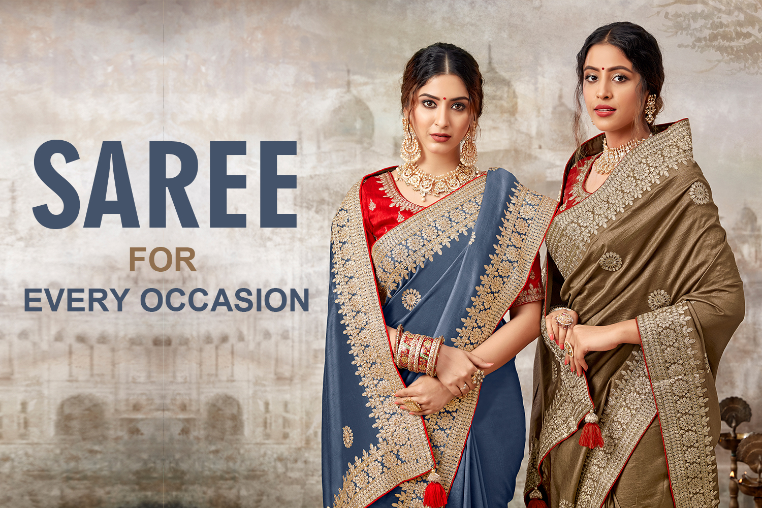 Saree For Every Occasion | The Brand Barrel