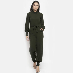 Grey Jumpsuit - Solid Grey Light Jumpsuits For Women & Girls | The Brand Barrel